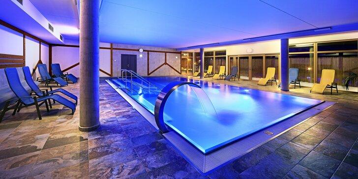 Oddych na Lipne v 4* hoteli s novým moderným wellness a trojchodovou večerou