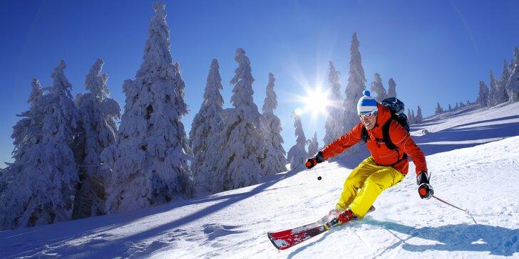 Zimný lyžiarsky pobyt alebo Jarná turistika vo Veľkej Fatre v rodinnom Hoteli Gader