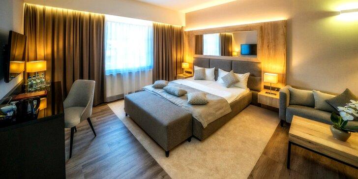 Skvelý pobyt s neobmedzeným vstupom do wellness v štýlovom hoteli Meta Szczyrk
