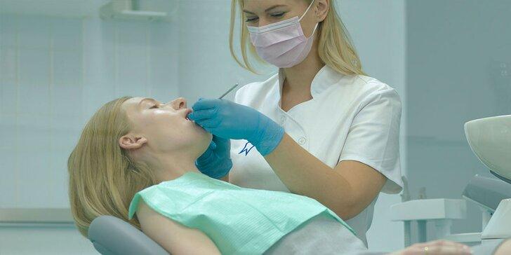 Dentálna hygiena bez pieskovania, s pieskovaním alebo bielenie chrupu lampou ZOOM 4