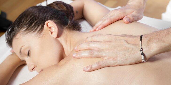 5 druhov masáží v Karlovej Vsi