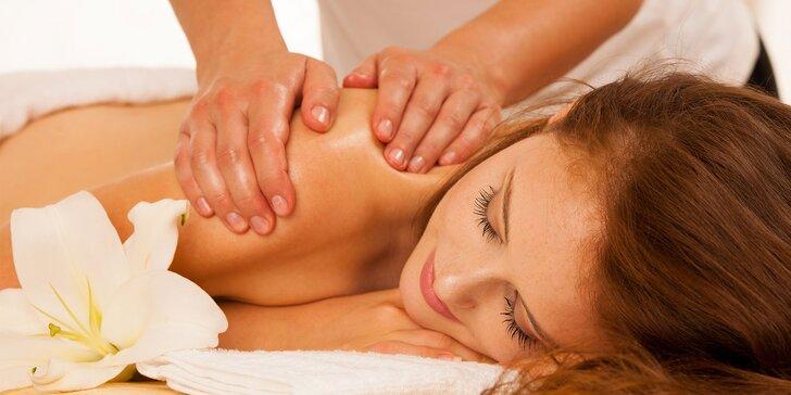 Športová alebo klasická masáž v salóne Natália
