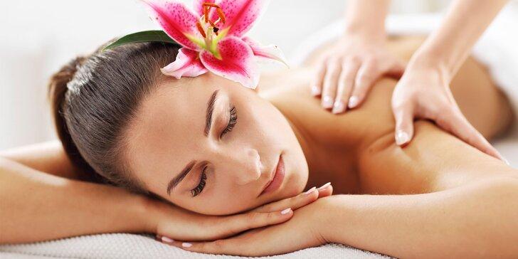 Klasická, relaxačná či kokosová masáž aj s možnosťou bankovania