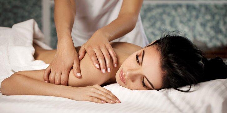 Uvoľňujúca klasická masáž či manuálna lymfodrenáž celého tela