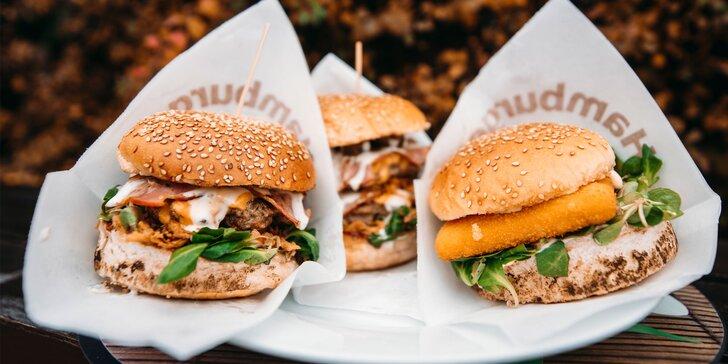 Špajza burger Kramáre: až 3 druhy na výber