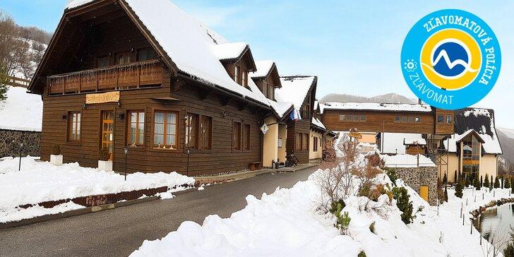 Wellness & SKI pobyt v unikátnych Starohorských vrchoch s panoramatickým výhľadom