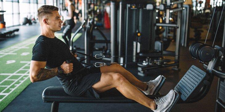 Vstupy do fitness centra a cvičenia s osobným trénerom