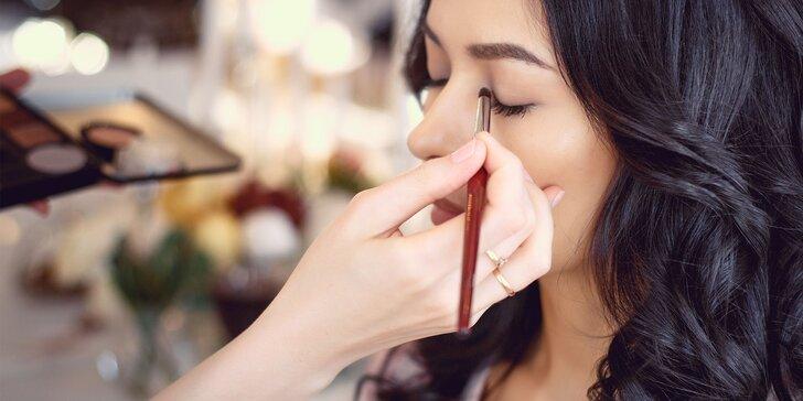 Workshop líčenia pre ženy alebo Kurz líčenia s kozmetikou podľa vlastného výberu