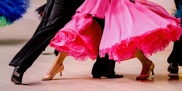 Roztancujte sa v kurze spoločenských tancov