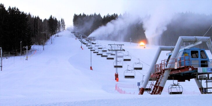Lyžiarske stredisko - JASENSKÁ DOLINA