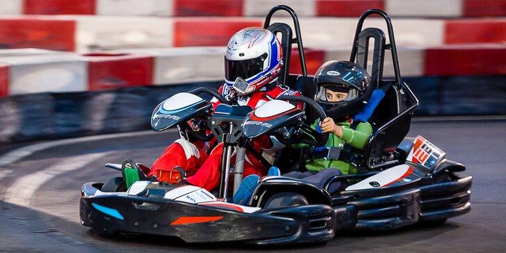 Zábavná jazda na motokárach v Kart One Arene v Petržalke