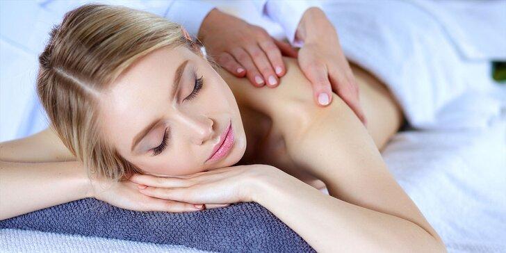 Klasická a liftingová masáž tváre či relaxačná masáž s bahenným zábalom