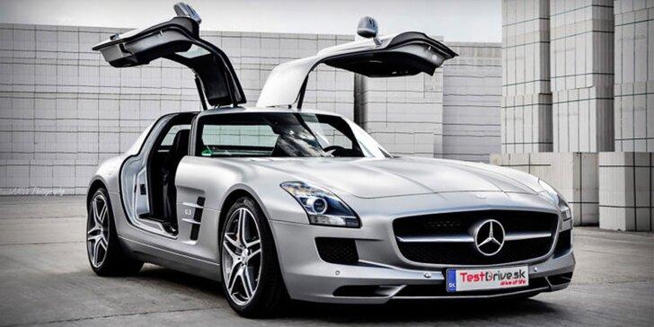 Zážitkové jazdy na Ferrari, Lamborghini či Mercedes Benz