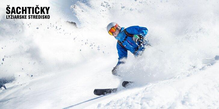 Celodenný, rodinný, 3-hodinový alebo 4-hodinový skipas do lyžiarskeho strediska Šachtičky