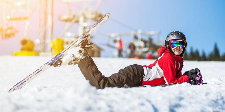 Požičanie lyžiarskeho výstroja pre deti, juniorov a dospelých
