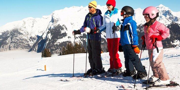 Zimný lyžiarsky pobyt v apartmánoch Sasanka blízko Snow Paradise Veľká Rača - Oščadnica pre 2 až 4 osoby