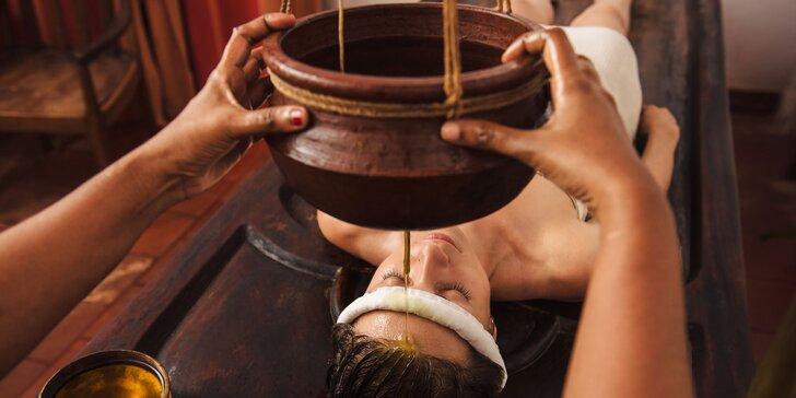 Jedinečné Abhyanga, Marma a ajurvédske masáže pre váš celkový relax