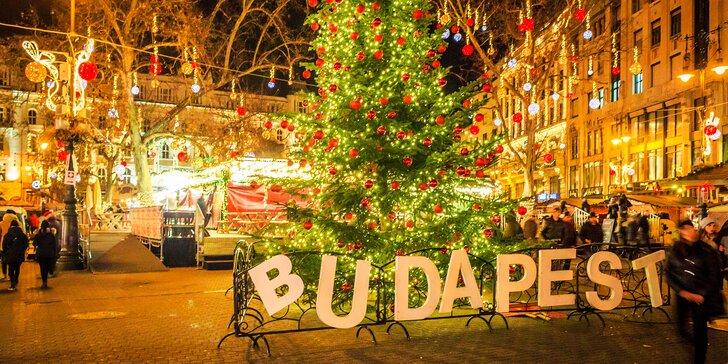 Objavte čaro vianočných trhov v Budapešti (nástup v Košiciach)