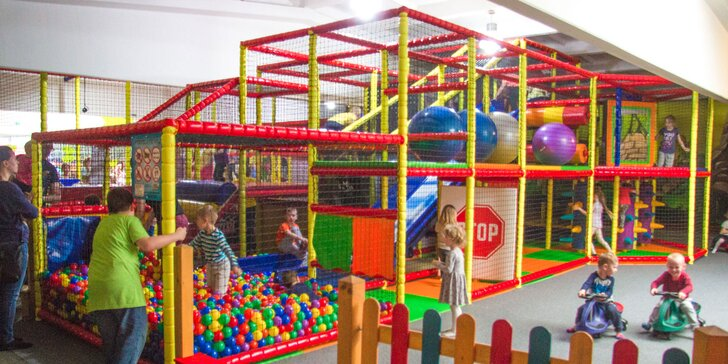 Detská permanentka na 5 či 10 vstupov do zábavného parku