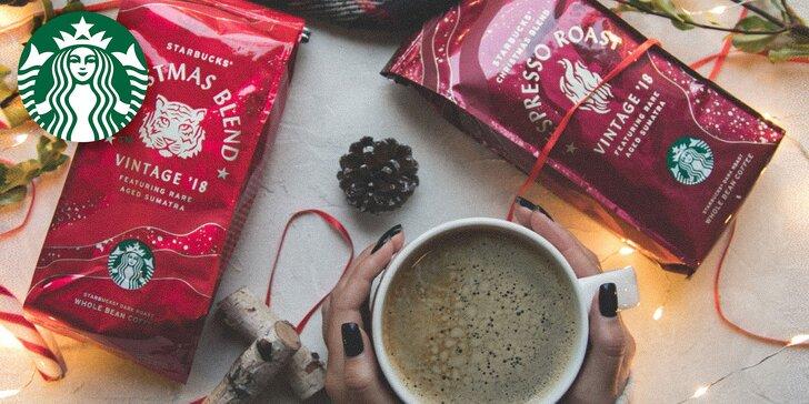 10% zľava na Merchandise Starbucks a Grande nápoj podľa výberu zdarma