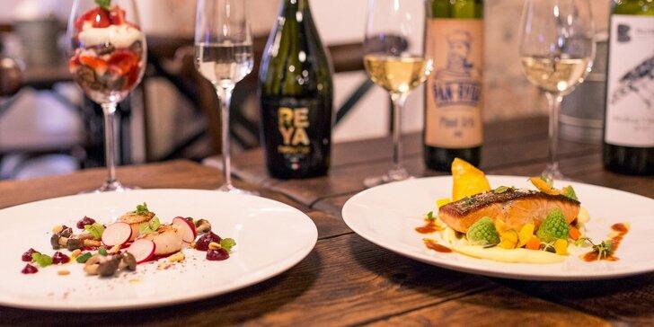Morské špeciality: exkluzívna 3-chodová večera pre 2 osoby v reštaurácii Pán Ryba