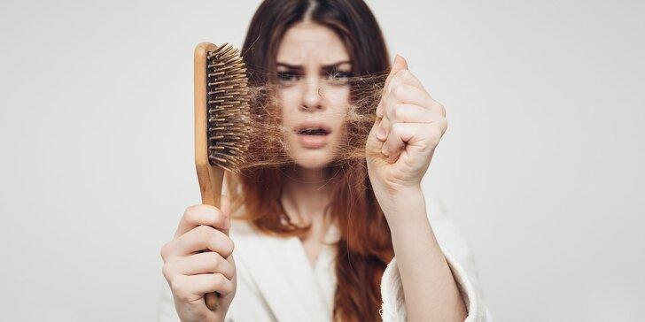 Zastavte vypadávanie vlasov s analýzou či ayurvédskou masážou hlavy