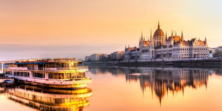 Zima či jar v Budapešti: 2-3 noci s raňajkami blízko centra v Hoteli Sissi***