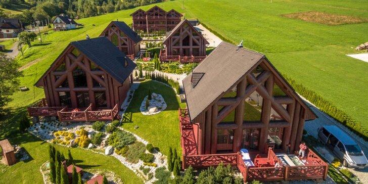 Ubytovanie v špičkovej chate Mountain Resort v atraktívnej lokalite Tatier