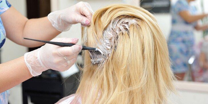 Dámsky strih, farbenie či keratínová a vlasová kúra STEAMPOD