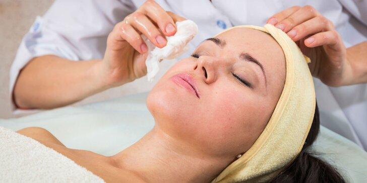 Mikrodermabrázia, regenerácia, manuálne čistenie a botox mihlaníc
