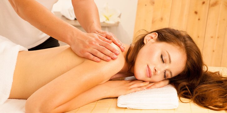 2 hodiny relaxu: klasická masáž a vstup do wellness