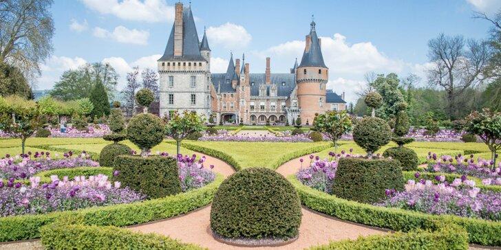Výlet do Paríža - zámky Fontainebleau, Vaux-le-Vicomte a Chateau de Maintenon