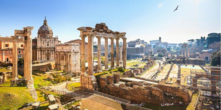 Za pamiatkami Ríma, Florencie, Verony a Benátok: 5 dňový zájazd