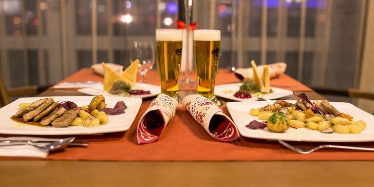 Romantická 2-chodová večera pre dvoch v KOŠICE Hotel ****