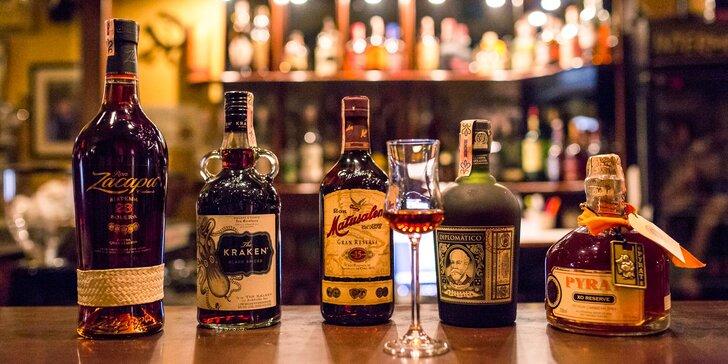 Ochutnávka likérov či rumov pre všetkých fajnšmekrov!
