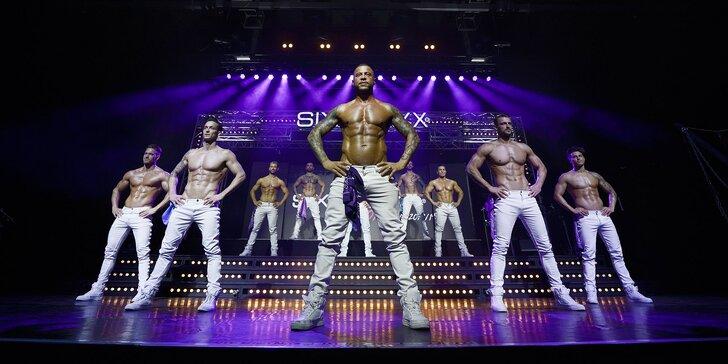 Vstupenka na pánsky striptíz SIXX PAXX Menstrip Show Bratislava!