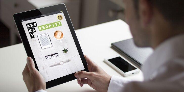 Praktický EBOOK, ktorý vám poradí ohľadom založenia E-SHOPU
