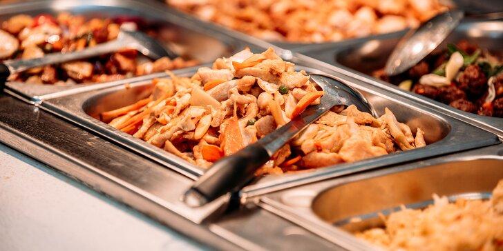 """Niekoľko druhov menu """"all you can eat"""" v ázijskej reštaurácii Dynasty"""