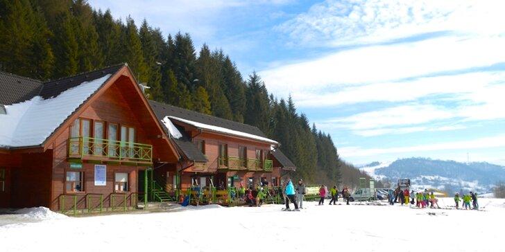 Penzión vo Vyšných Ružbachoch priamo na svahu lyžiarskeho strediska