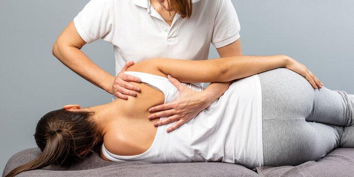 Individuálne cvičenie, rehabilitácie a masáže vedené fyzioterapeutom