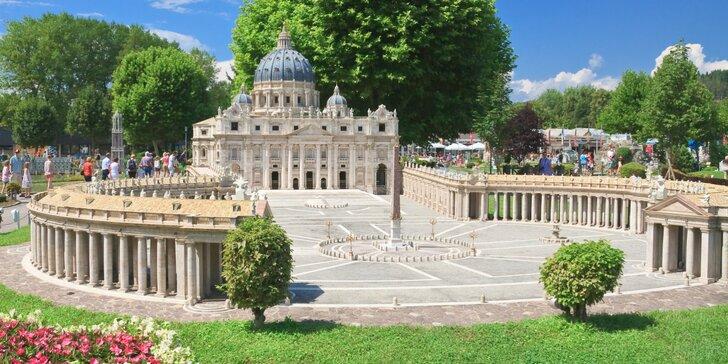 Výlet na rakúsku riviéru: Klagenfurt - Wörthersee a park miniatúr