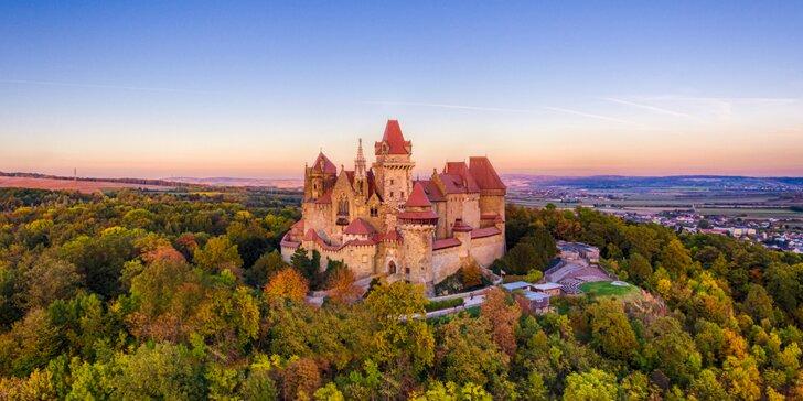 Zájazd na festival ruží v Badene s návštevou zámku Kreuzenstein