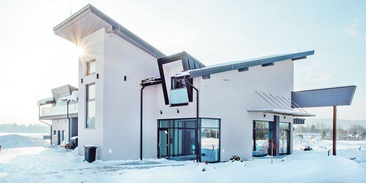 Zimný pobyt na Liptove v tichom prostredí v modernom novopostavenom Moteli Hôrky