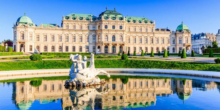 Veľký okruh Viedňou a romantický večer v centre mesta