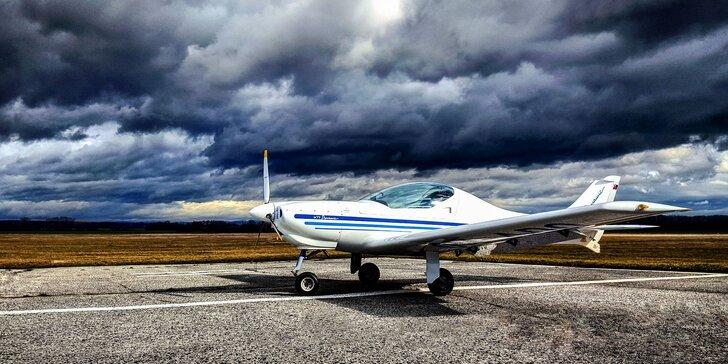 Zážitkový let s možnosťou pilotovania lietadla Eurofox Space 3K