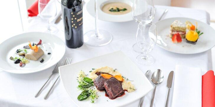 4-chodové kulinárske menu pre 2 osoby