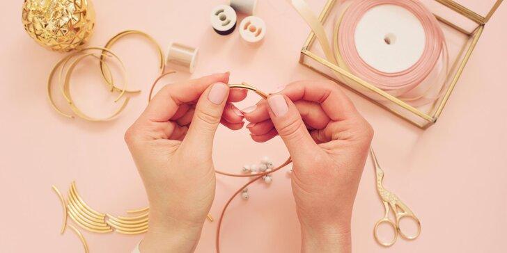 Kreatívny kurz výroby drôtených náušníc pre 1 osobu