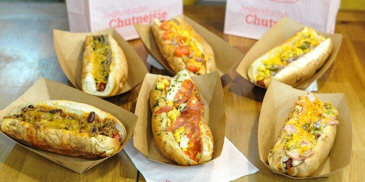 Vyberte si z 5 druhov Hot Dogov vo Filip's Hot Dog vo Freshmarkete