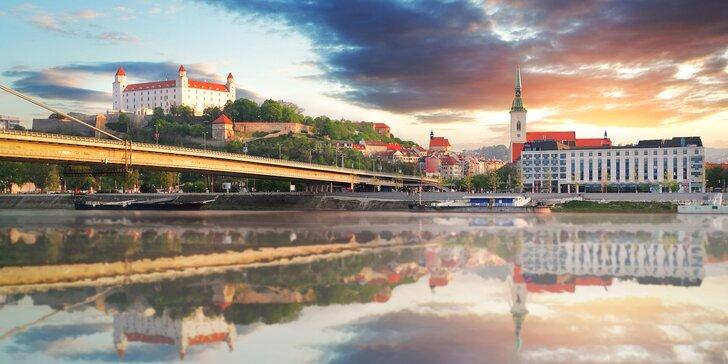 Pobyt s raňajkami v Bratislave: neďaleko starého mesta