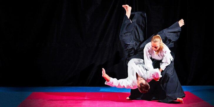 Mesačný tréning sebaobrany Aikidó pre dospelého či dieťa